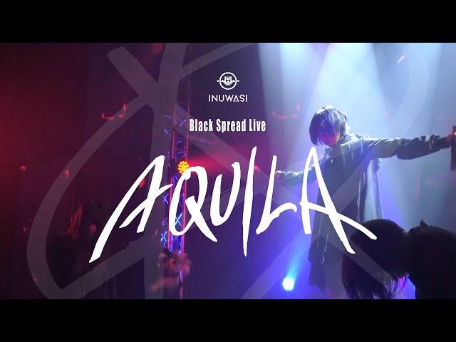 "INUWASI – Black Spread Live "" AQUILA ""[LIVE MOVIE]"