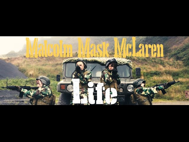 Malcolm Mask McLaren/「Life」MV