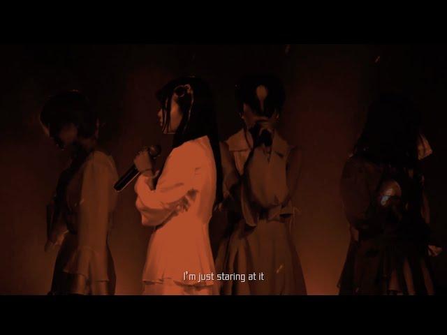 【Official Live Video】「人のおちる街」(英語字幕入り)